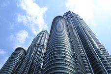Free Twin Towers In Kuala Lumpur Stock Photos - 21218673