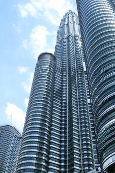 Free Twin Towers In Kuala Lumpur Royalty Free Stock Image - 21218676