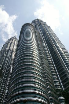 Free Twin Towers In Kuala Lumpur Royalty Free Stock Images - 21218699