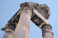 Free Antique Portico Stock Photography - 21218852