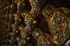 Free Golden Buddha Statues Stock Photo - 21219090