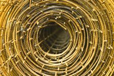 Roll Of Wire Royalty Free Stock Photo