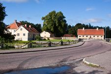 Free Road To The Village. Royalty Free Stock Photography - 21219587