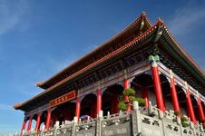 Free Lengnoeiyi Chinese Temple Royalty Free Stock Image - 21219786