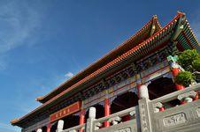 Free Lengnoeiyi Chinese Temple Stock Photos - 21219853