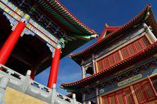 Free Lengnoeiyi Chinese Temple Royalty Free Stock Photos - 21219978
