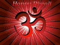 Free Rays Background With Isolated Aum For Happy Diwali Stock Photography - 21223612