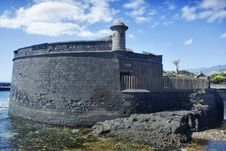 Free Fortification. Tenerife Stock Photos - 21220853