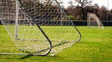 Free Soccer Goal Stock Image - 21221511