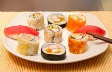 Free Sushi Royalty Free Stock Photos - 21222468