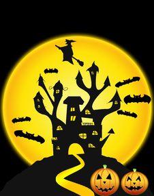 Free Halloweens Night Royalty Free Stock Photos - 21222698