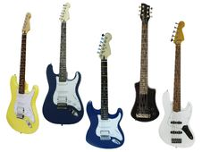 Free Guitars Stock Image - 21223351