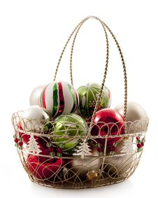 Free Basket Of Bulbs Stock Photography - 21223482