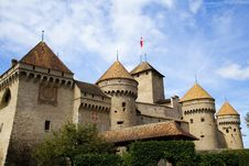 Free Chateau De Chillon, Switzerland Royalty Free Stock Image - 21223676