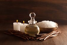 Free Wood Spa Royalty Free Stock Photography - 21223917