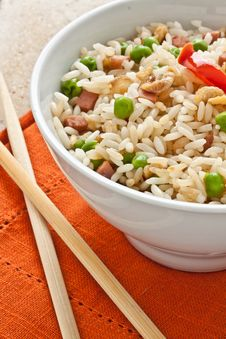 Free Canton Chinese Rice Stock Images - 21224174