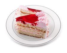 Free Strawberry Cake Stock Photography - 21224392