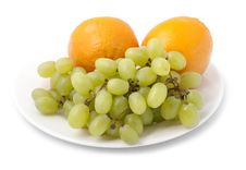 Free Bunch Of Grapes Royalty Free Stock Photography - 21224437