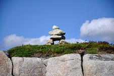 Free Stone Pile Near Peggys Cove Stock Photography - 21224632