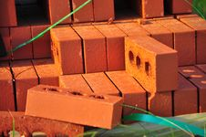 Free Red Bricks Stock Images - 21224744