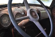 Free Steering Wheel Royalty Free Stock Photography - 21224747