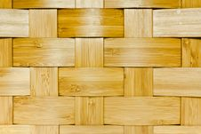 Free Woven Bamboo Panel Stock Image - 21224961