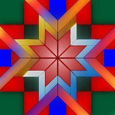 Free Leavenworth Star Pattern Stock Image - 21225521