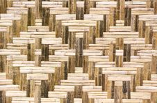 Rattan Weave Background Stock Photos
