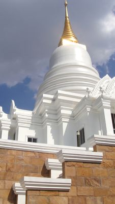 Free White Pagoda Stock Photo - 21226340