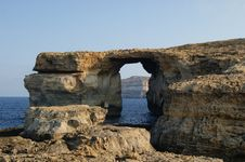 Free Azure Window. Gozo, Malta. Stock Image - 21226451