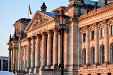 Free Reichstag Royalty Free Stock Image - 21227026