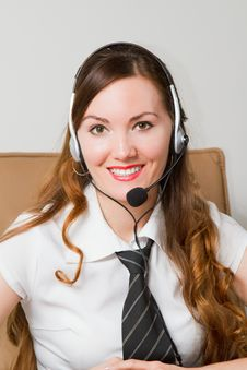 Free CUSTOMER SERVICE AGENT Royalty Free Stock Image - 21227046