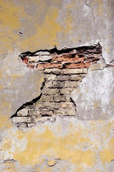 Free Grunge And Cracked Old Wall Stock Photo - 21227750