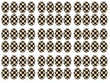 Free Chessboard Transformation On Eggs Forms Stock Photo - 21227760
