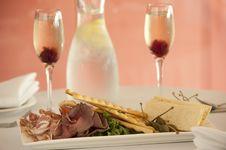 Restaurant Entree Stock Image