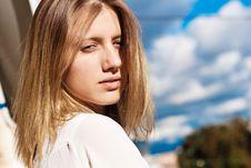 Free Portrait Of Beautiful Woman Stock Photography - 21228482
