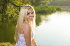 Free Portrait Of A Beautiful Smiling Young Woman Royalty Free Stock Photography - 21228887
