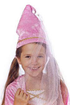 Free Girl Dressed As Fairy Stock Images - 21229304