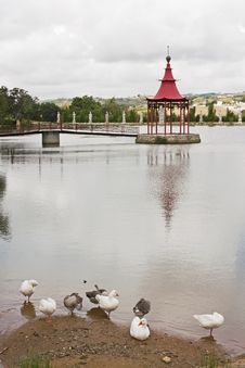 Free Lake Of Bandstand Stock Photography - 21229642