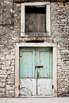 Free Old Door Royalty Free Stock Photos - 21229718