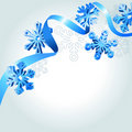 Free Abstract Background Wth Snowflakes Stock Images - 21235544