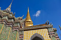 Free Golden Pagoda And Stupa At Wat Pra Kaew Royalty Free Stock Photography - 21237037