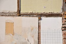 Free Inner Wall Of A Condemned House Royalty Free Stock Images - 21230689