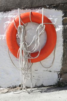 Free Lifebuoy Royalty Free Stock Photo - 21231205