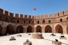 Free Turkey, Alanya - Red Tower And Harbor Stock Photos - 21231293