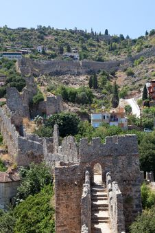 Alanya Castle Stock Photography