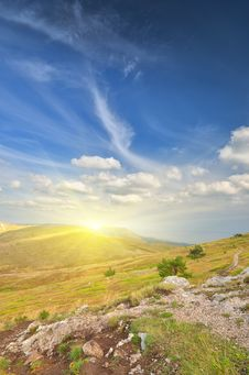 Free Top Of The Mountain Royalty Free Stock Image - 21231666