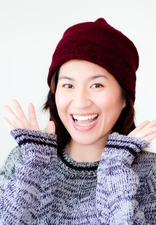Free Portrait Of Asian Woman Royalty Free Stock Photo - 21232325