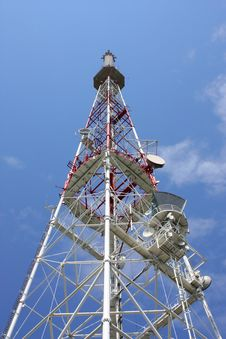 Free TV Tower Royalty Free Stock Images - 21232429