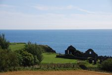 Free Ruined Church At Stonehaven Stock Images - 21232734